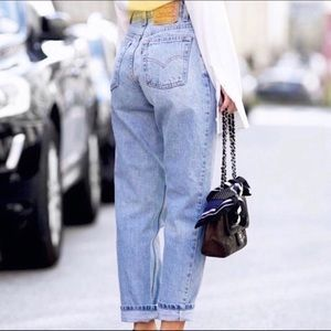 LEVI'S Vintage 90's 551's High Rise Mom Jeans